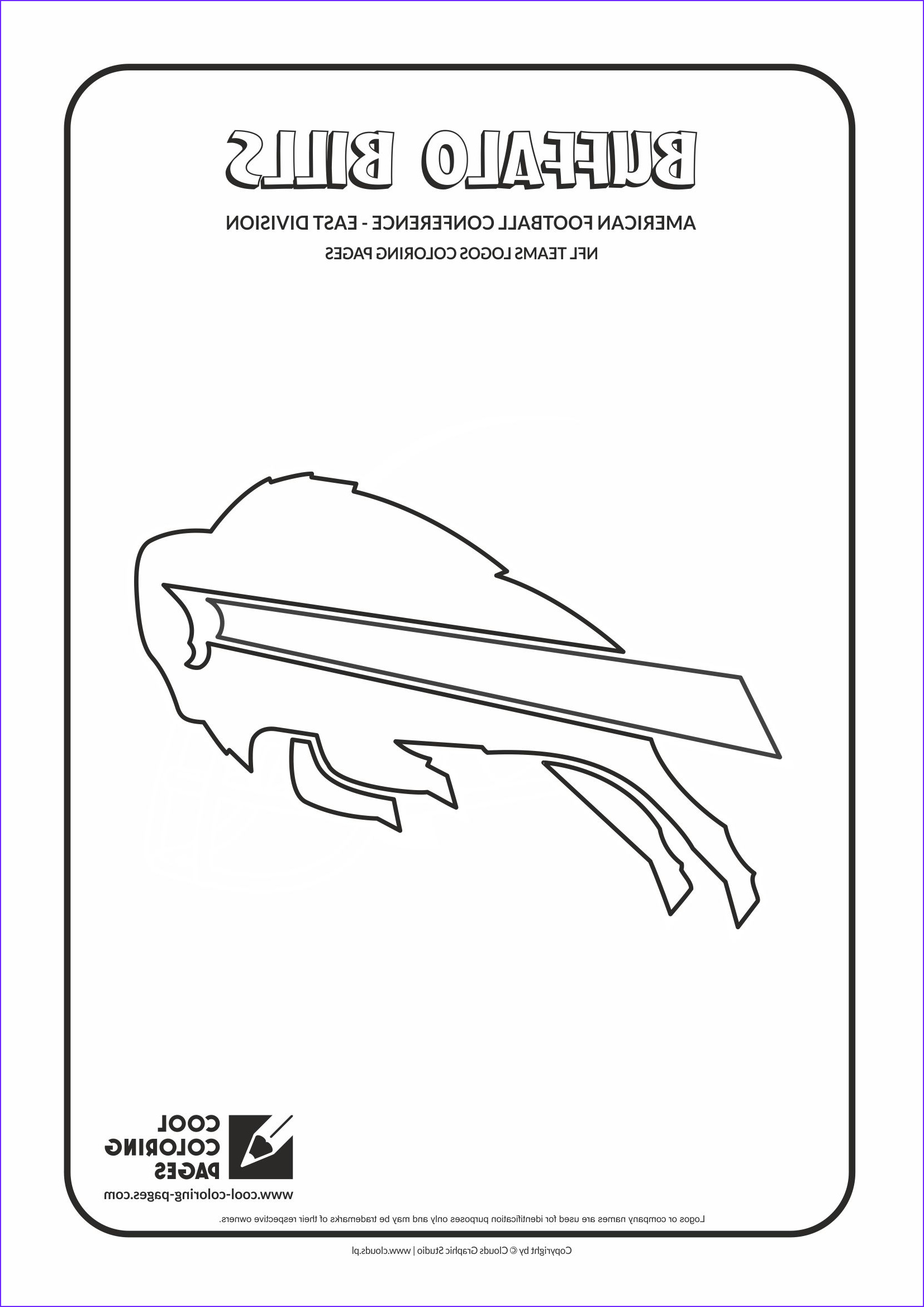 nfl teams logos coloring pages
