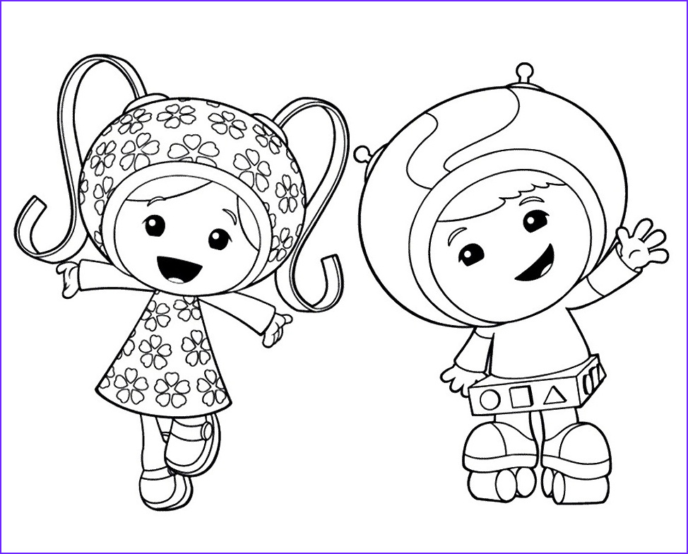 team umizoomi coloring activity pages