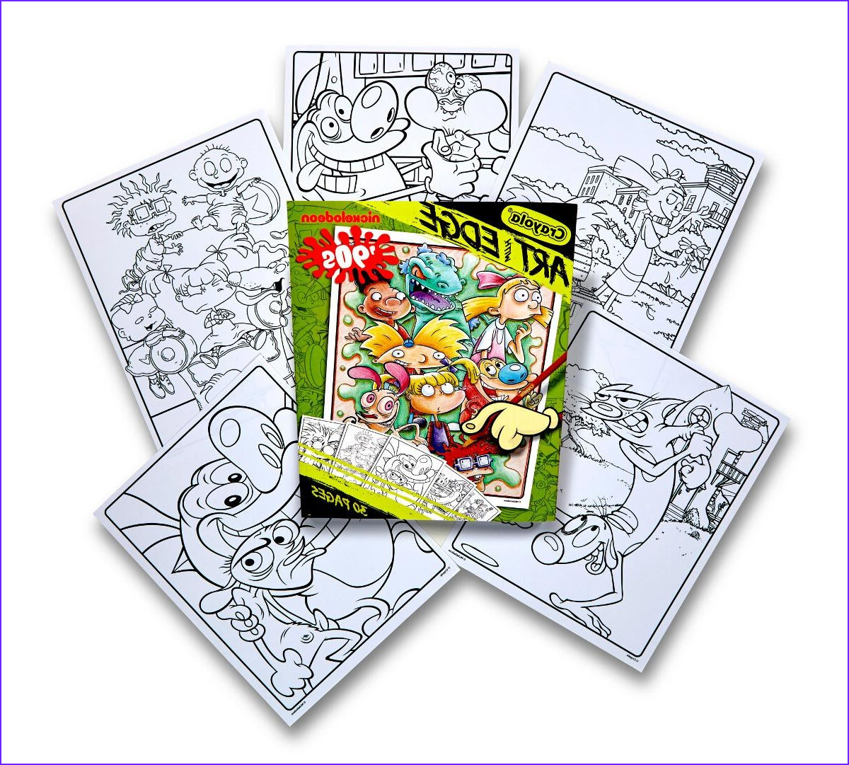 Nickelodeon Coloring Books Beautiful Photos Crayola Art with Edge Nickelodeon Classics 30 Pages Art