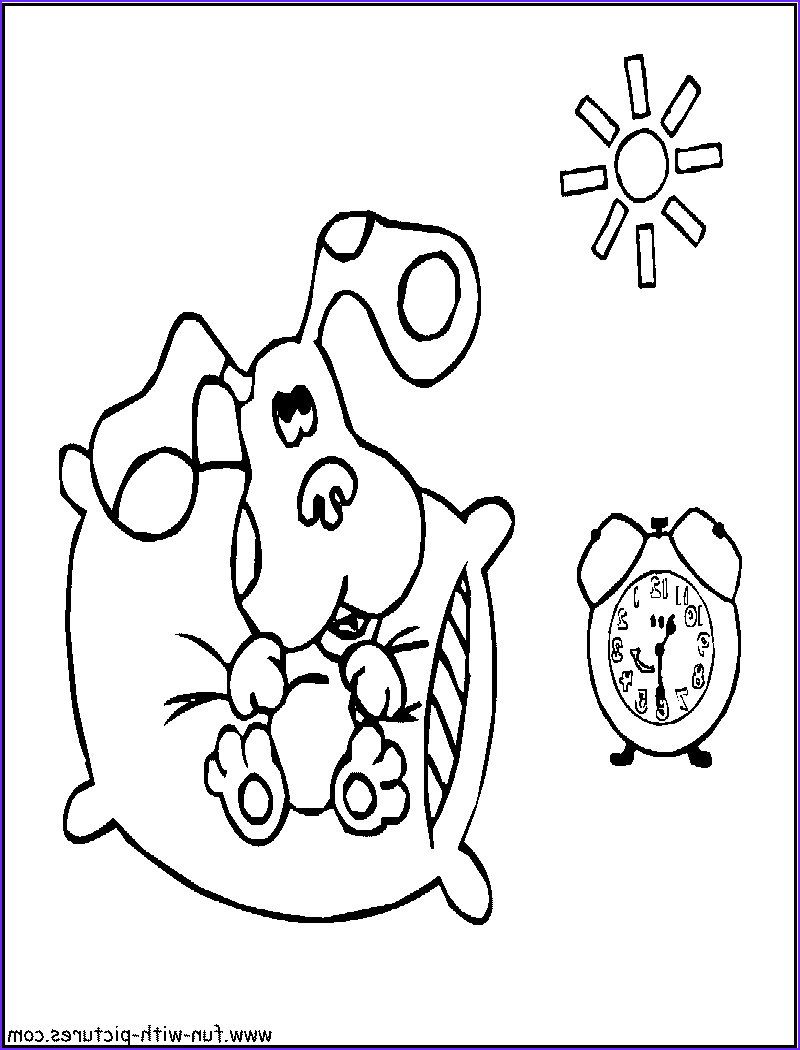 Nickelodeon Coloring Books Beautiful Photos Good Morning Blue Coloring Page