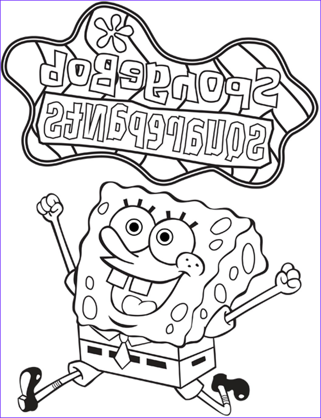 Nickelodeon Coloring Books Inspirational Photos Free Nickelodeon Spongebob Coloring Pages for Kids