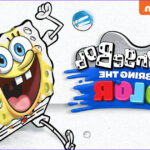 """Nickelodeon Coloring New Gallery Nickalive Nickelodeon Usa Launches """"spongebob You Bring"""