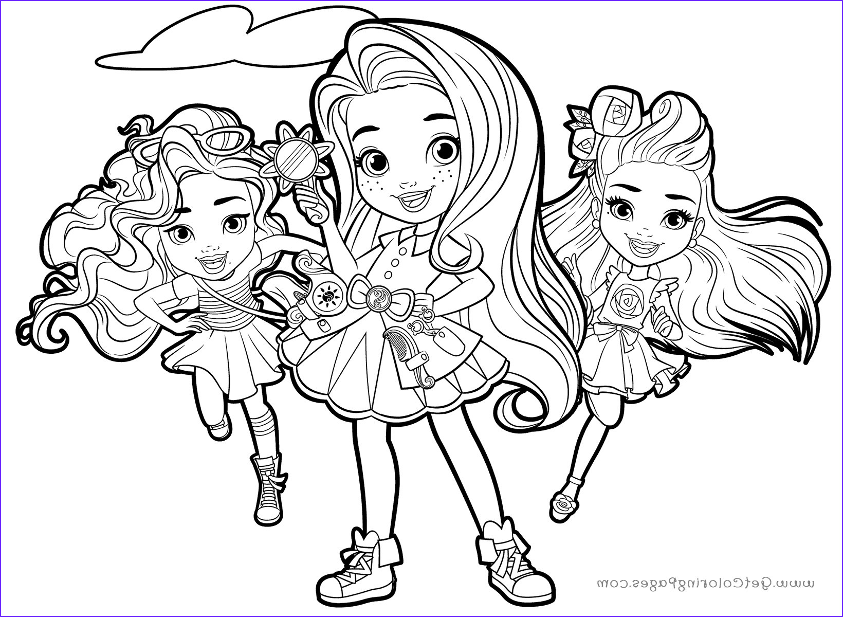 sunny day coloring pages