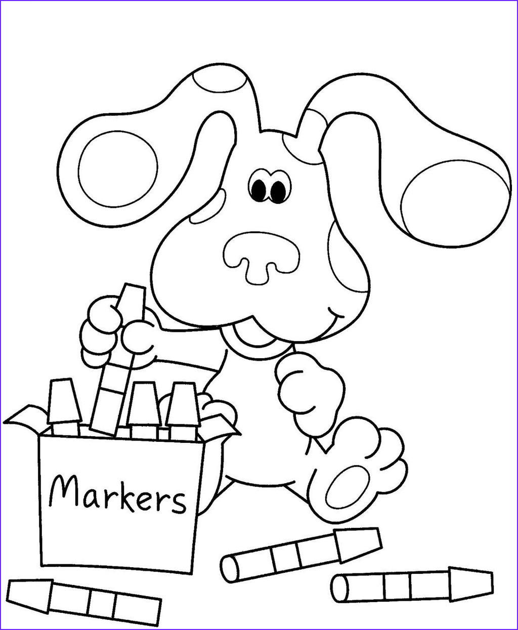 nickelodeon coloring pages nick jr black and white