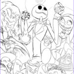 Nightmare Before Christmas Coloring Book Beautiful Gallery 46 Best Lineart Nightmare Before Christmas Images On