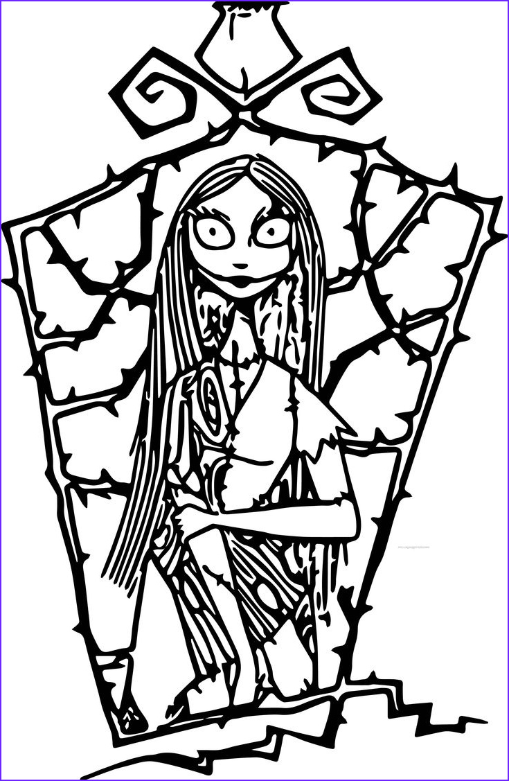Nightmare before Christmas Coloring Book Beautiful Image the Nightmare before Christmas Coloring Pages