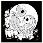 Nightmare Before Christmas Coloring Book Beautiful Stock Free Printable Nightmare Before Christmas Coloring Pages