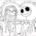 Nightmare Before Christmas Coloring Book Cool Images Free Printable Nightmare Before Christmas Coloring Pages