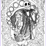 Nightmare Before Christmas Coloring Book Cool Photos 30 Nightmare Before Christmas Coloring Pages Coloringstar