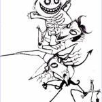 Nightmare Before Christmas Coloring Book Inspirational Stock Free Printable Nightmare Before Christmas Coloring Pages