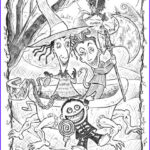 Nightmare Before Christmas Coloring Book Unique Stock Nightmare Before Christmas Coloring Page 400x500px