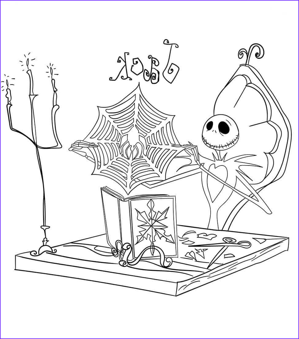 Nightmare before Christmas Coloring Pages Beautiful Images 20 Free the Nightmare before Christmas Coloring Pages to Print