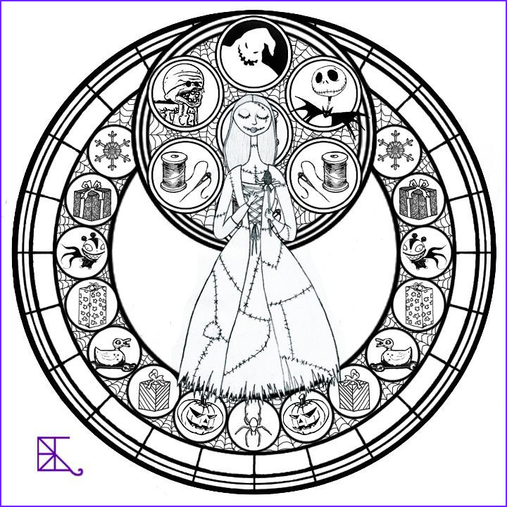 Nightmare before Christmas Coloring Pages Beautiful Photos Nightmare before Christmas Coloring Page Coloring Home