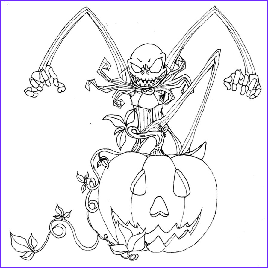 Nightmare before Christmas Coloring Pages Cool Stock Free Printable Nightmare before Christmas Coloring Pages