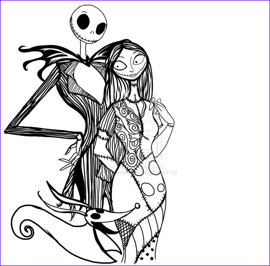 Nightmare before Christmas Coloring Pages Elegant Images Free Printable Nightmare before Christmas Coloring Pages