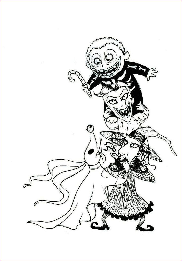 Nightmare before Christmas Coloring Pages Unique Photos Download Nightmare before Christmas Coloring Pages