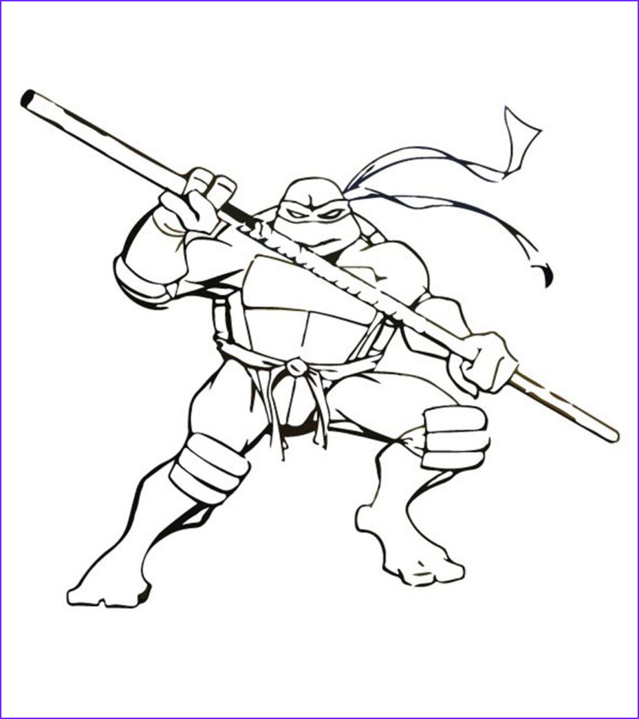 fun ninja turtles coloring pages your toddler will love to do