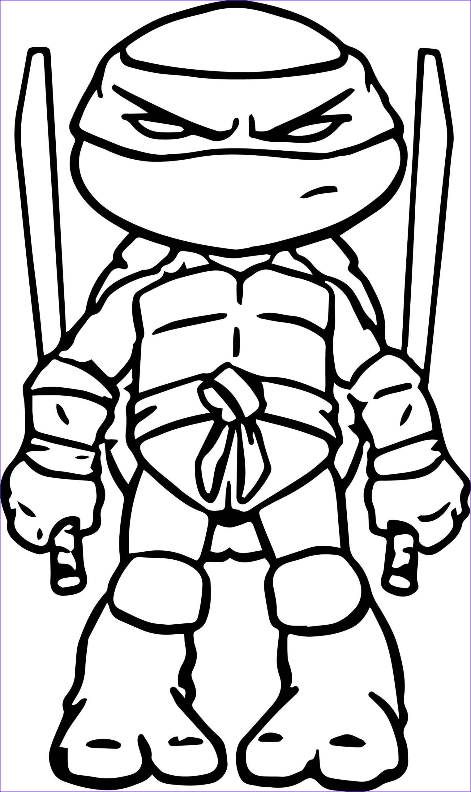 Ninja Turtle Coloring Pages Luxury Photos Ninja Turtles Art Coloring Page Tmnt Party