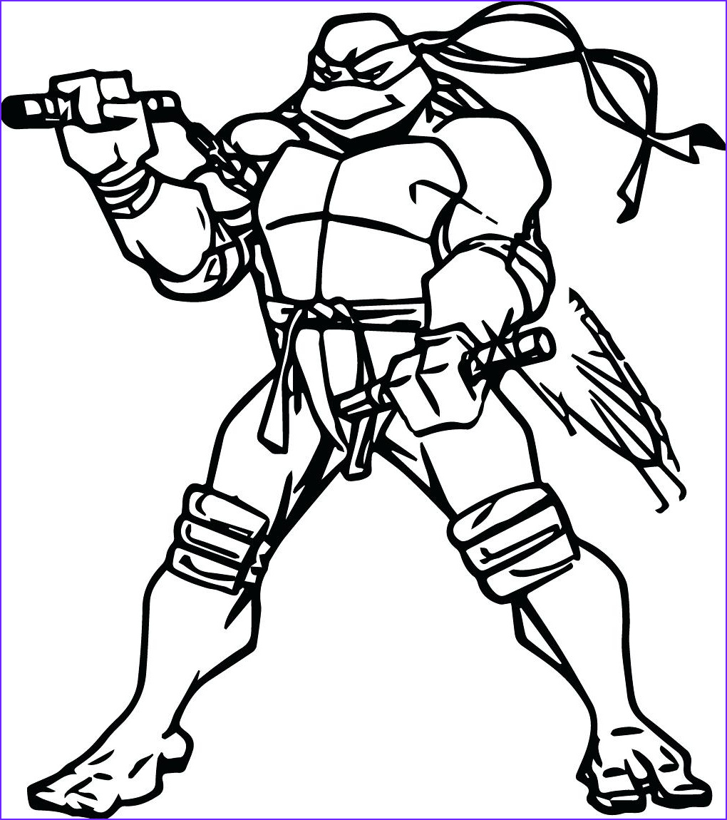 Ninja Turtle Coloring Pictures Awesome Photos Teenage Ninja Turtle Coloring Pages Download