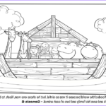 Noah Coloring Page Awesome Image Noah S Ark Bible Coloring Pages