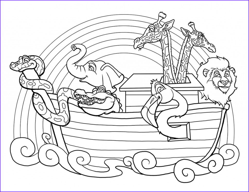 Noah Coloring Page Awesome Images Noah Ark Printable Coloring Pages