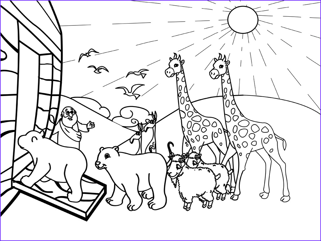 Noah Coloring Page New Stock Noah and His Ark Coloring Page