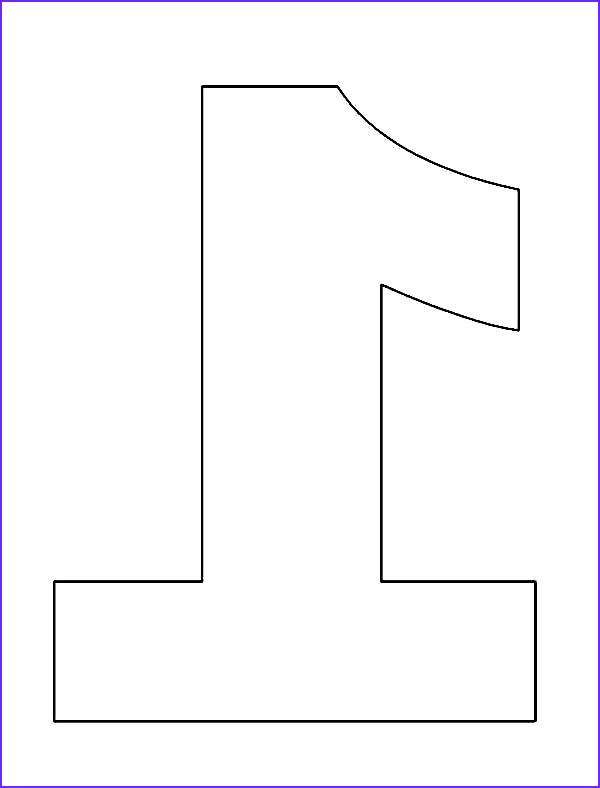 Number 1 Coloring Page Cool Images Picture Of Number E Coloring Page Netart