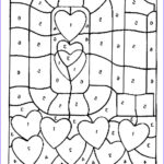 Number Coloring Beautiful Photos Free Printable Color By Number Coloring Pages Best