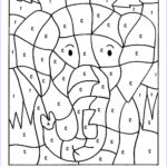 Number Coloring Best Of Collection Free Printable Color By Number Coloring Pages Best