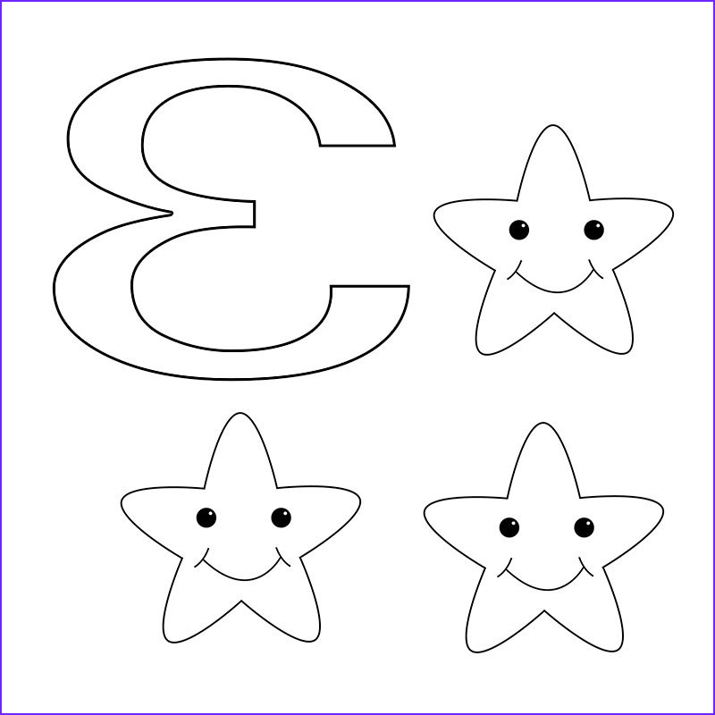 Number Coloring Pages for toddlers Unique Image Number 3 Coloring Pages for toddlers