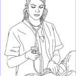 Nursing Coloring Books Beautiful Collection Nurse Coloring Pages Best Coloring Pages For Kids