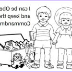 Obedience Coloring Page Unique Collection 8 Best I Can Be Obe Nt Images On Pinterest
