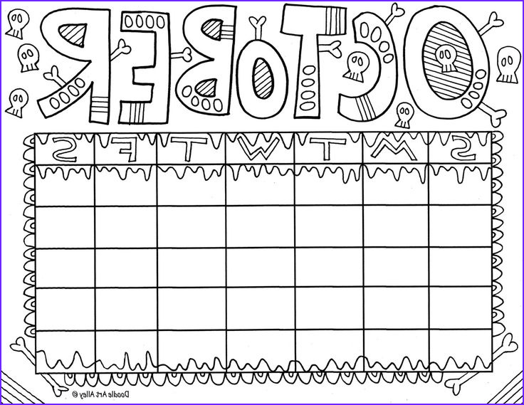 October Coloring Pages Beautiful Images October Fun & Doodles
