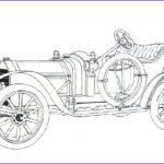Old Car Coloring Pages Cool Images Classic Car Coloring Pages The Old And Muscle Car