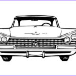Old Car Coloring Pages Luxury Stock An Old Car Chevy Impala Coloring Page Coloring Sky