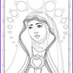 Our Lady Of Fatima Coloring Pages Beautiful Photos Coloring Page Of Children Of Fatima