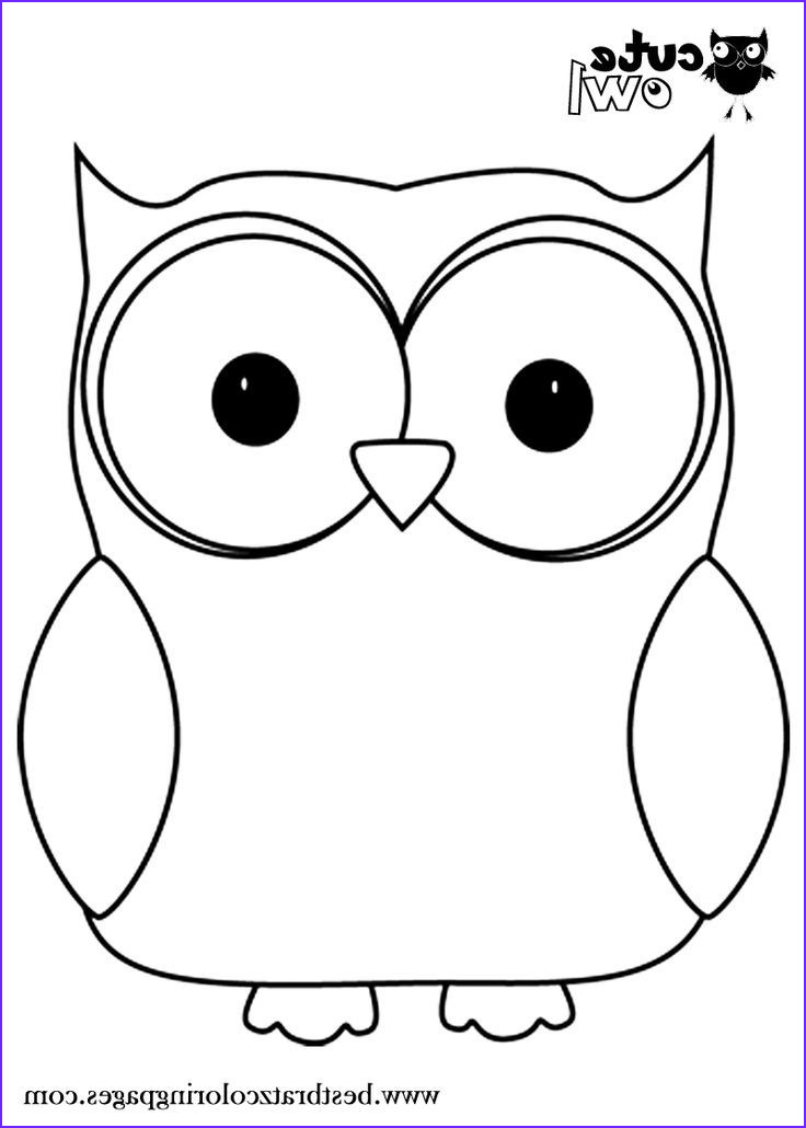 Owl Coloring Beautiful Photos Owl Coloring Pages Print Free Printable Cute Owl Coloring