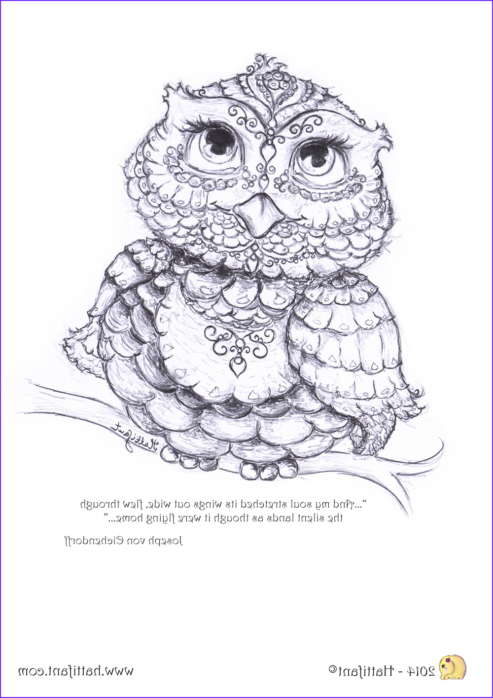 Owl Coloring Best Of Photos Being Up with the Owls Hattifant