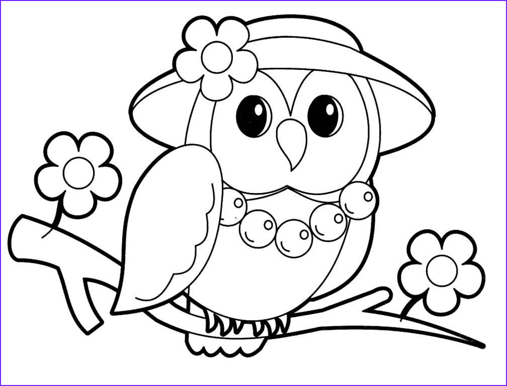 Owl Coloring Best Of Photos Owl Coloring Pages for Kids Coloring Home