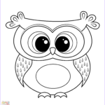 Owl Coloring Book Luxury Gallery Cartoon Owl Coloring Page