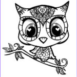 Owl Coloring Books For Adults Awesome Image 10 Difficult Owl Coloring Page For Adults