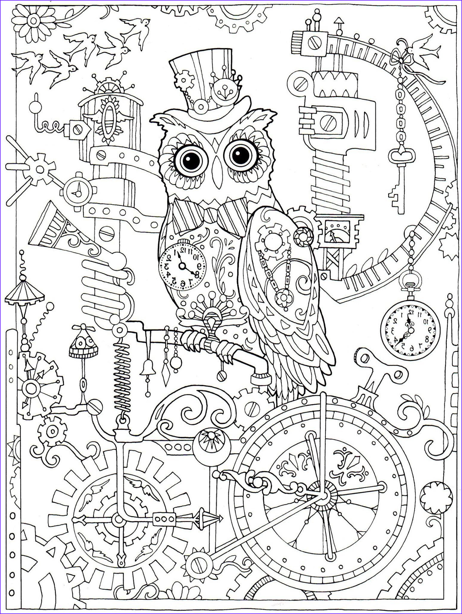 Owl Coloring Books for Adults Beautiful Gallery Adult Coloring Book Coloring Pages
