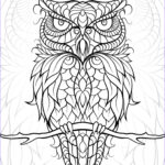 Owl Coloring Books For Adults Beautiful Images Diceowl Free Printable Adult Coloring Pages