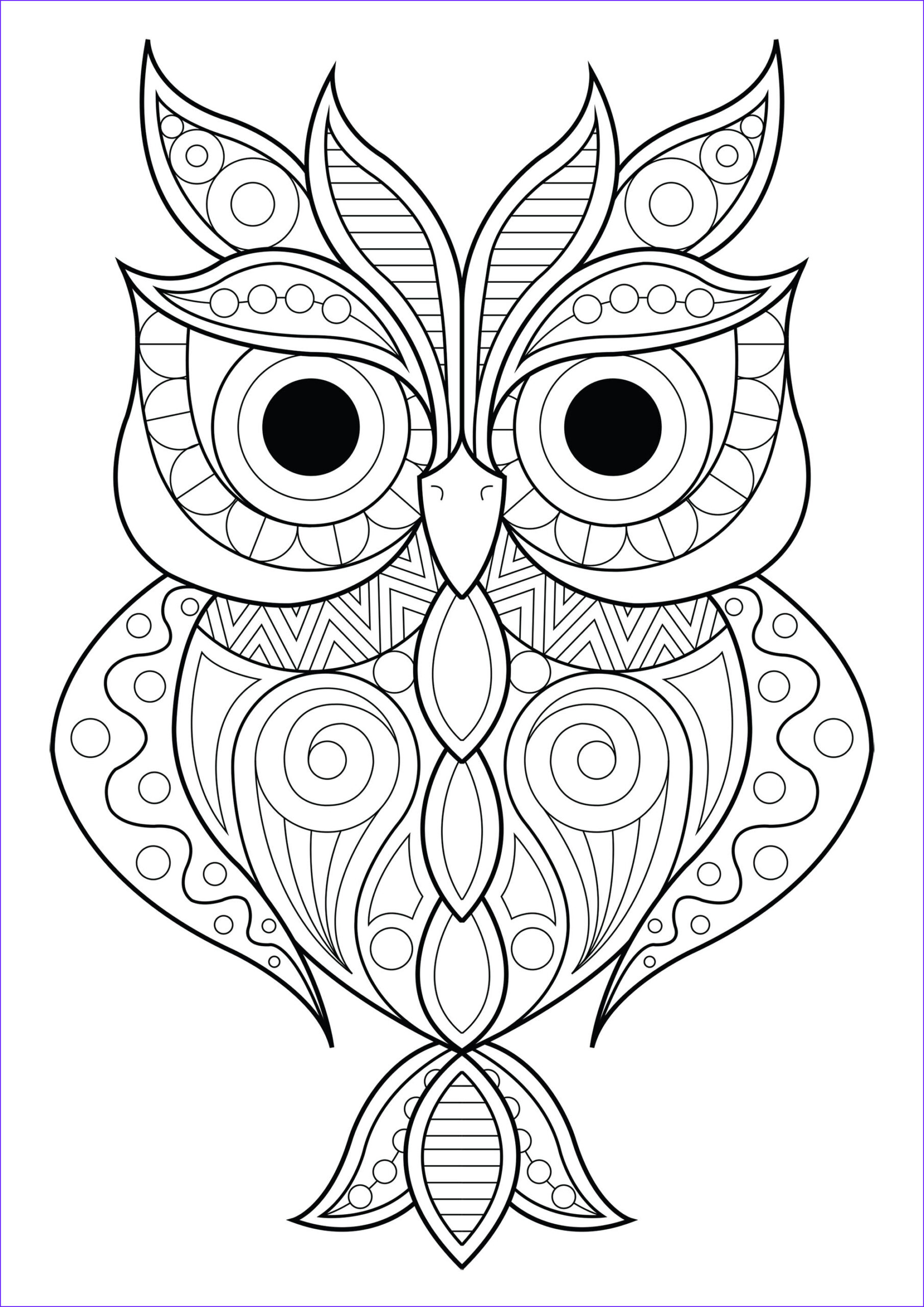 image=owls coloring owl simple patterns 2 1