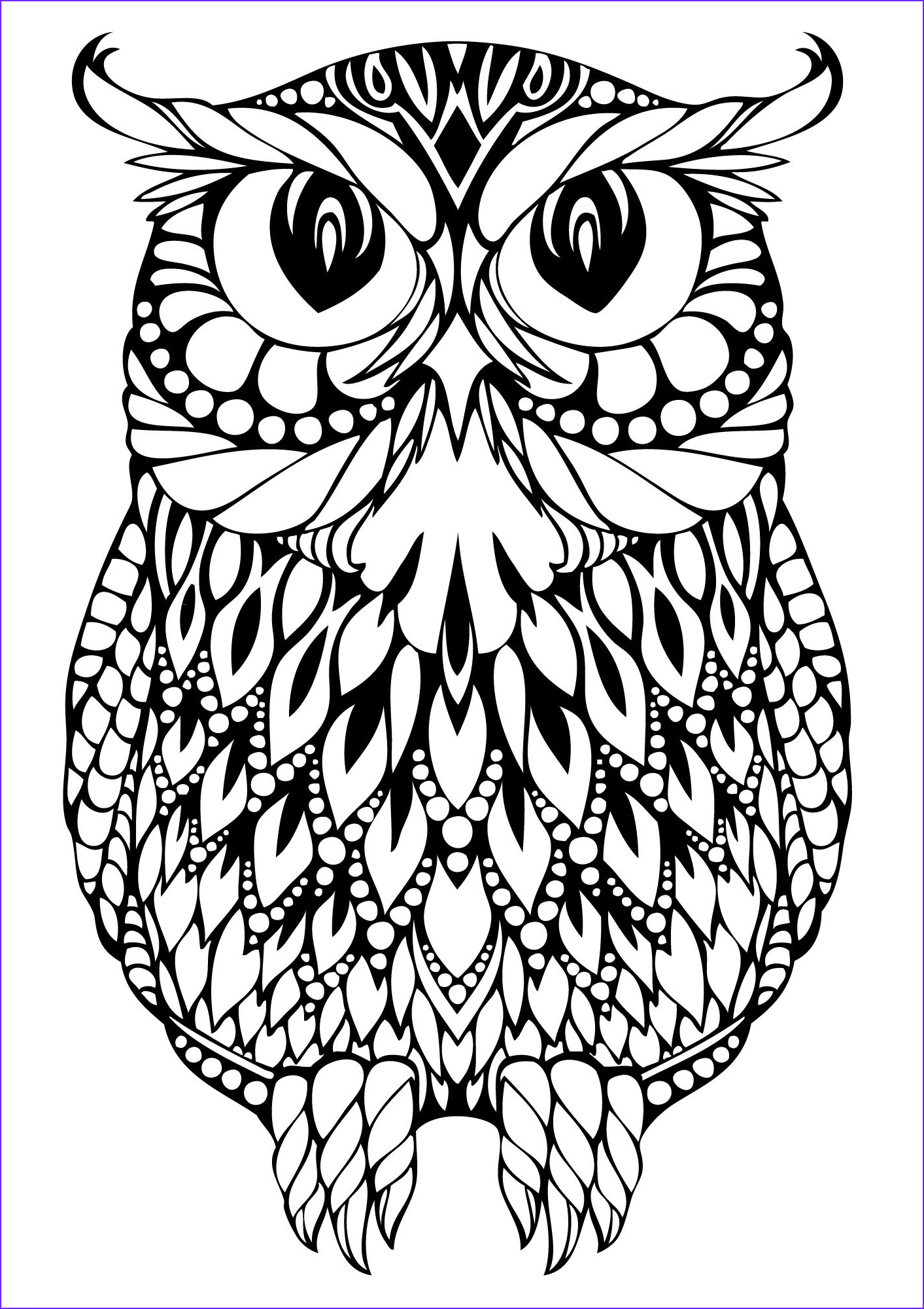 Owl Coloring Books for Adults New Collection Owl Coloring Pages Koloringpages Owls