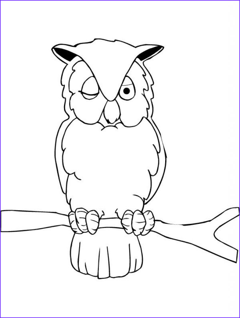 Owl Coloring Elegant Collection Owl Coloring Pages for Kids