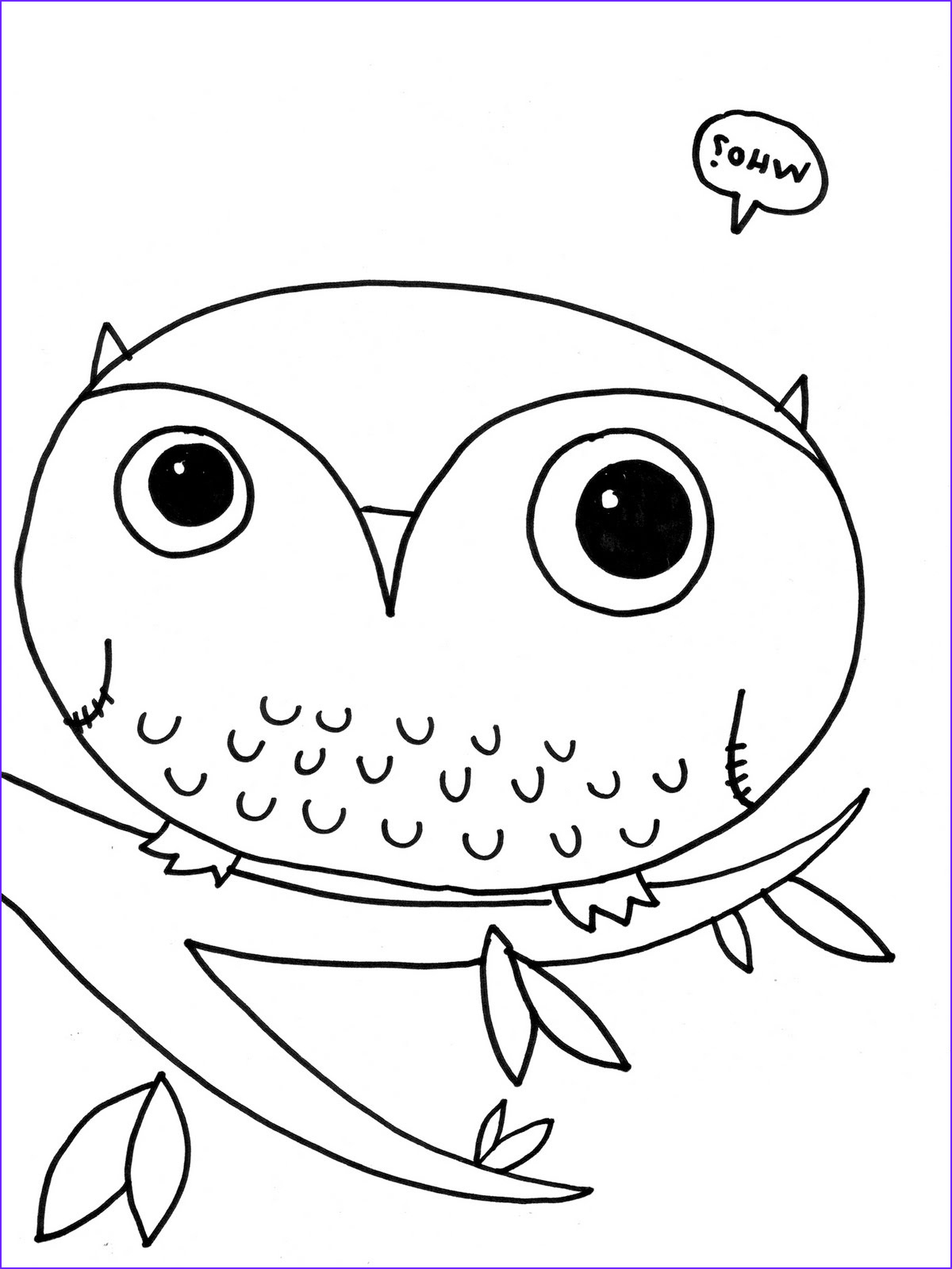Owl Coloring Inspirational Images Free Cute Baby Owl Coloring Pages Download Free Clip Art