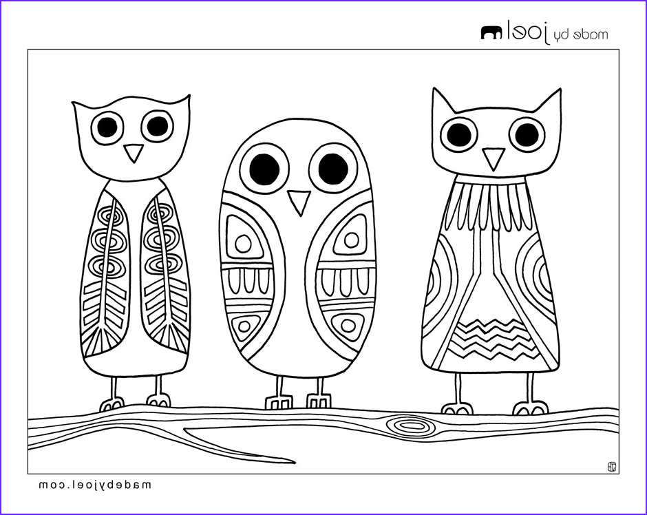 Owl Coloring Inspirational Photos Made by Joel Owls Coloring Sheet