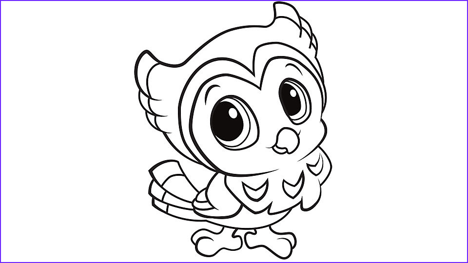 Owl Coloring Luxury Image Learning Friends Owl Coloring Printable