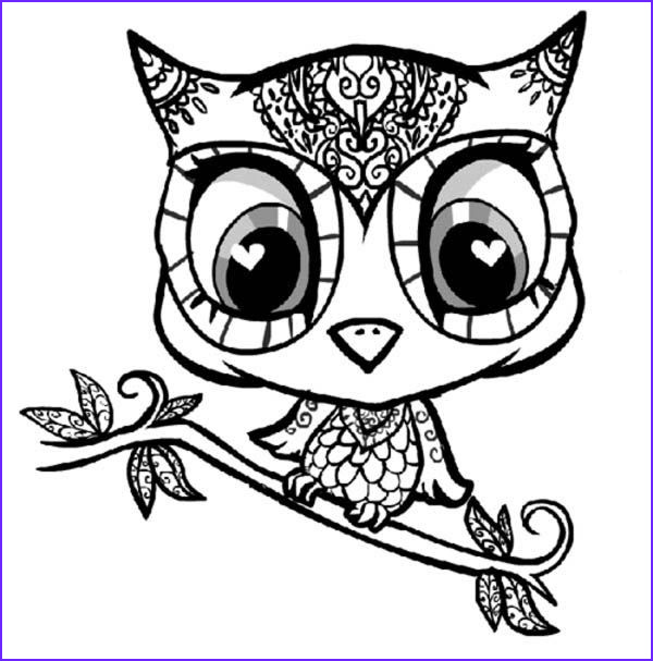 Owl Coloring Pages for Adults Cool Photography Cartoon Owl Coloring Pages to Print